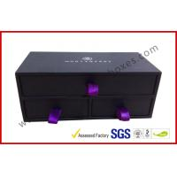 Quality Embossed Stylish Jewelry Apparel Gift Boxes , Rigid Gift Boxes with Lids for sale