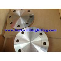 Duplex Stainless Steel Flanges ASTM A182 F55 Blind Welding Neck Slip On Threaded Manufactures