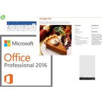 China MS Office Product Key Card Office 2013 Home And Business Key Card on sale