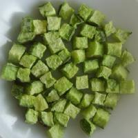 Green Healthy Freeze Dried Cucumber Dice Vegetables Online Freeze Dried Food Manufactures