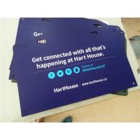 High Density PVC Custom Sign Boards Double Sided Full Color Printing Manufactures