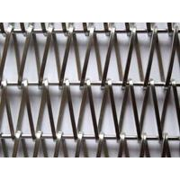 Stainless Metal Architectural Wire Mesh Conveyor Belt Facade Decoration for sale