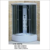 China Chrom Profile Complete Shower Room Cabin with Six Jets / Nozzles ISO9001 on sale