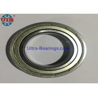 Quality 19mm Steel Covered Sealed Bearings Low Friction For Heavy Duty Conveyor Roller for sale