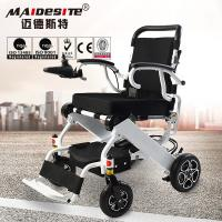 Aluminum folding electric wheelchair for disabled Manufactures