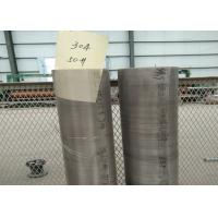 Corrosion - Resistant Plain Stainless Steel Wire Cloth With 1 - 635 Mesh Manufactures