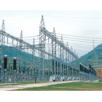 Buy cheap Electric Steel Framed Structures , Distribution Substation Equipment Power Transmission Line from wholesalers