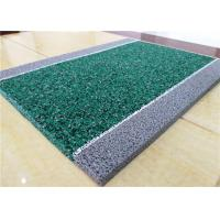 Environment Friendly Rubber Playground Material EPDM Bicycle Track 10mm Thickness Manufactures