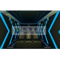 Cabin Box 7D Movie Theater Electronic System Simulation Chairs For Amusement Park Manufactures