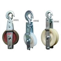 SHT Grounding Wire Stringing Block / 20KN Cast Steel Sheave Stringing Block Manufactures