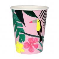 Double Wall Ribbed Disposable Paper Coffee Cups Safety Food Grade With Logo Manufactures