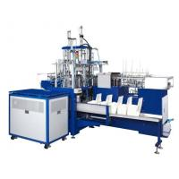 China SLB-400 10kw Rated Power Automatic Paper Container Making Machine For Multi-compartments Lunch Box on sale