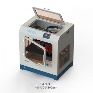Quality Peek / Ultem High Temperature 3D Printe CreatBot F430 400 * 300 * 300 Mm for sale