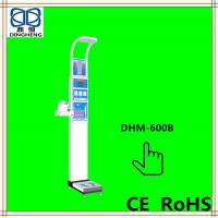 China electronic bench weighing scale 500kg height and weight scale with height Ultrasonic detector DHM-600B on sale
