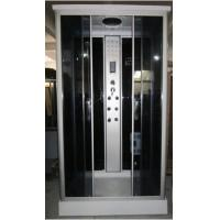 China Acryllic Back Panels square corner shower stalls , 4 way Faucet / diverter steam shower cubicle on sale