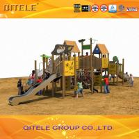Quality Outdoor Children Playground Equipment For Age 2 - 12 Safety for sale
