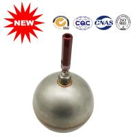 Antirust Toilet Bowl Ball Float , Floating Metal Ball Custom Made Type Manufactures