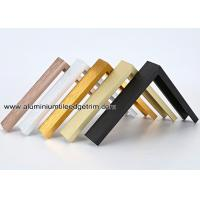 China Metal Type Aluminium Wall Picture Frame Mouldings With Brushed Sides for sale