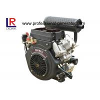 Air - cooled Vertical V Twin 22HP 870F Industrial Diesel Engines with 4 Stroke Direct Injection Manufactures