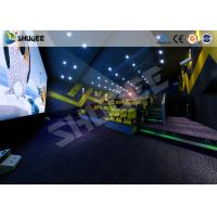 Digital Movie Technology 4D Movie Theater 4D Cinema With Amazing Effect Manufactures
