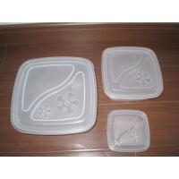 China Plastic Box / Container Injection Molding Molds Hot / Cold Runner PP PC Material on sale