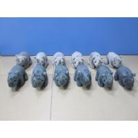 Grey and Black Stuffed Animal Rhino Rhinoceros Plush Toys 20cm Manufactures