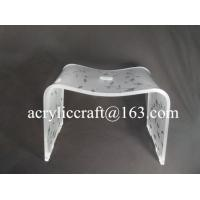 Custom Color Printing Acrylic Furniture, Transparent Dining Chair Manufactures