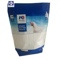China High Strength BOPP Laminated PP Woven Bags , Woven Polypropylene Feed Bags on sale