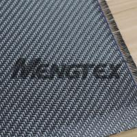 Glitter 3K Carbon Fiber Silvery Carbon Fiber Cloth/Fabric Twill Manufactures