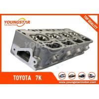 High Performance Toyota 7k Engine Cylinder Head With 11101 - 06030 OEM NO. Manufactures