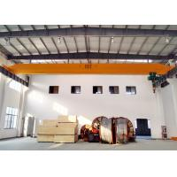 China Top Running Material Lifting Overhead Bridge Crane Single Beam 5-15M/MIN Lifting Speed on sale