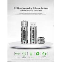 China USB rechargeable lithium battery, Reusable recycling, saving more on sale