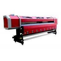 3.2M Large Format Printing Machine , Digital inkjet printer Deluxejet Series Dx5 Head Manufactures