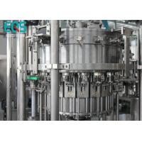 Low Temperature Carbonated Drink Filling Machine PET Bottle Famous Brand PLC Machine 6000 BPH Manufactures