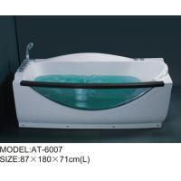 Plastic jaccuzi tub corner jetted bathtub for adults optional Air pump Manufactures