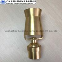 Crystal clear water Low pressure copper adjustable water jet fountain nozzles Manufactures