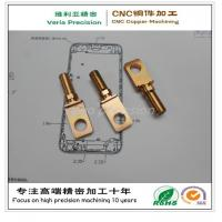 Precision CNC Metal Machining Part / CNC Machined Copper Part for Hardware Spare Part Manufactures