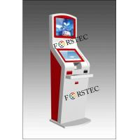 China Red Dual Touch Screen Kiosk (FRC-004) on sale