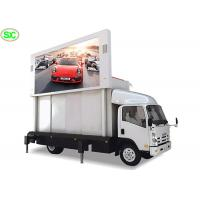 Waterproof Mobile Truck LED Display Rental Vehicle Screen P3.91 With Smd Lamp Manufactures