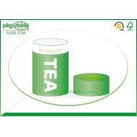 Food Grade Green Tea Tube Packaging Handmade High End Environmentally Friendly Manufactures