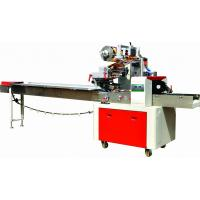 Cake / Bread Pillow Packing Machine Easy Operate Touch Screen Display Manufactures