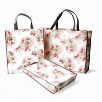 China Promotional Tote Bags, Customized Designs Welcomed, Made of PP Woven Material on sale