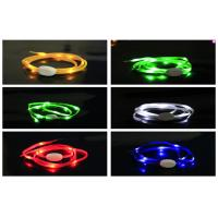 Lighted Waterproof Glow In The Dark Shoelaces Color Changing For Women And Men Manufactures