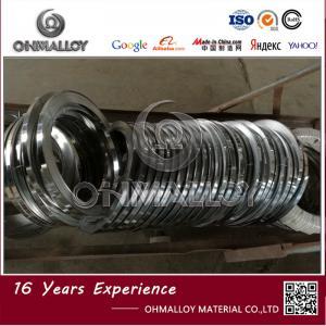 High Temp Alloys FeCr13Al4 Alloy / FeCrAl Heating Strip For Train Resistor 0.6mm x 75mm Manufactures