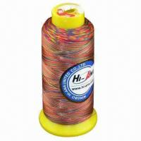 120D/4500 yards embroidery thread with mixed colors Manufactures