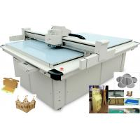 30mm CNC Carton Box Cutting Machine Optional Router With Variable Oscillating Control Manufactures