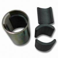 China Arc Ceramic Ferrite Magnet, Suitable for Motor Bikes and Stepping Motors, TS16949 Certified on sale
