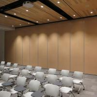 Hotel Rolling Mobile Partition Wall / Acoustic Movable Soundproof Partition Wall Manufactures