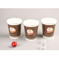 Eco Friendly 16oz Cold Paper Cups Iced Recyclable Coffee Cups For Shop / Office