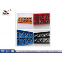 Indexable Carbide Lathe Inserts High Cutting Force For Turning / Facing